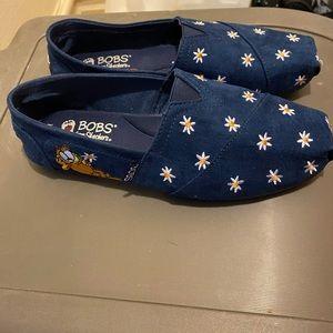 Skechers BOBS x Garfield shoes sz 7.5 wide width